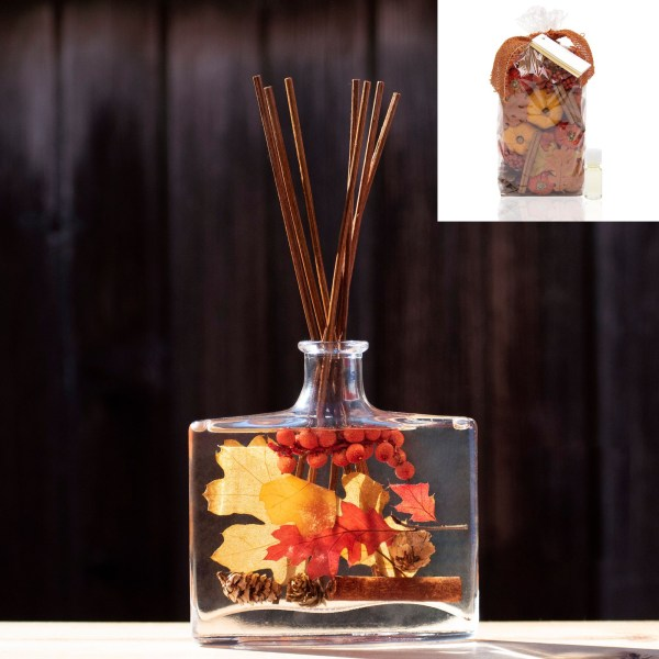potpourri et diffuseur de parfum