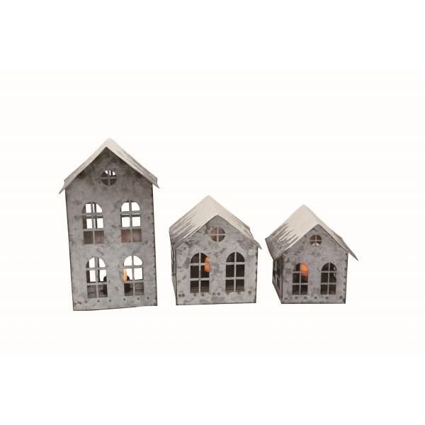 maisons en métal galvanisées
