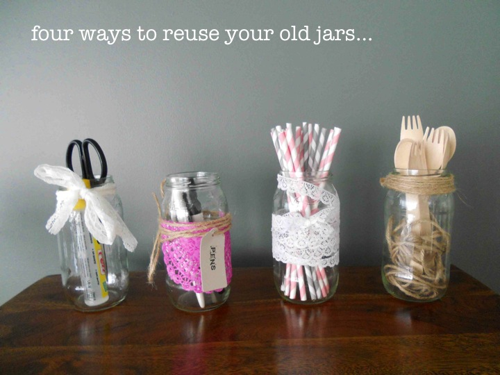 Recycle your jars…