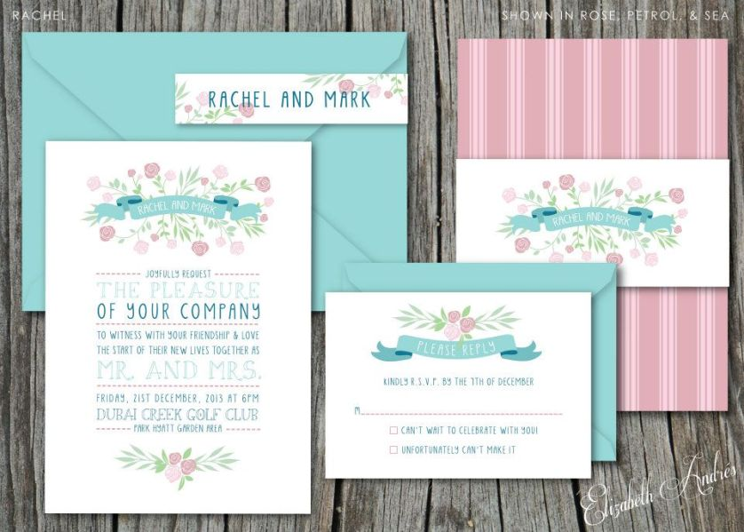 Another gorgeous invitation… ♥