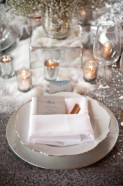 Winter wonderland wedding… ♥