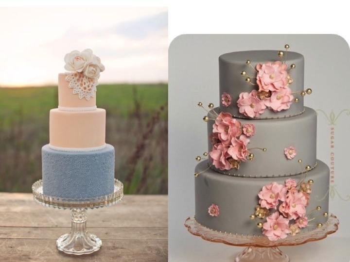 The sweetest thing is wedding cake ♥