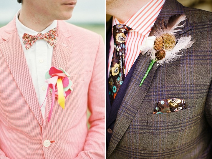 Styling the groom…♥