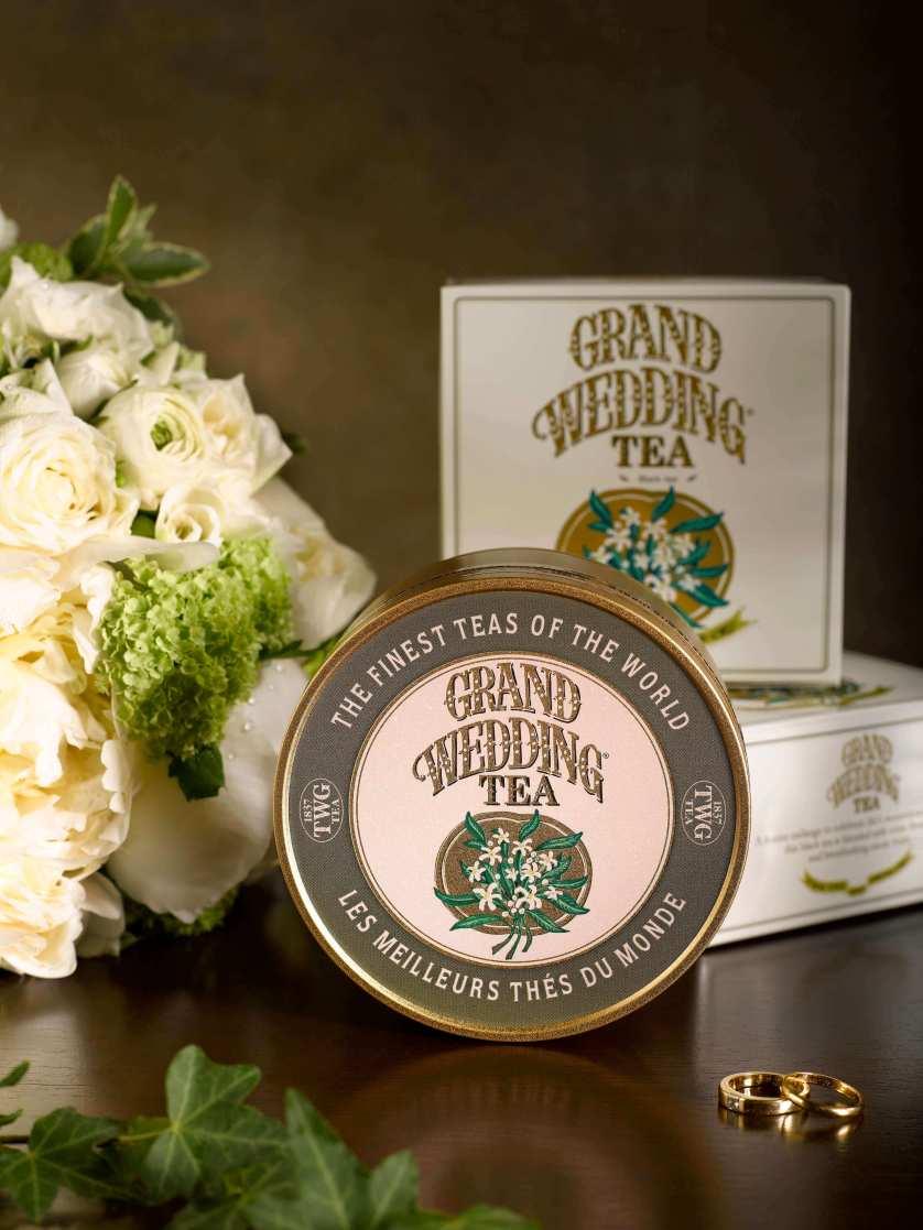 TWG Grand Wedding Tea  @ Dubai Mall
