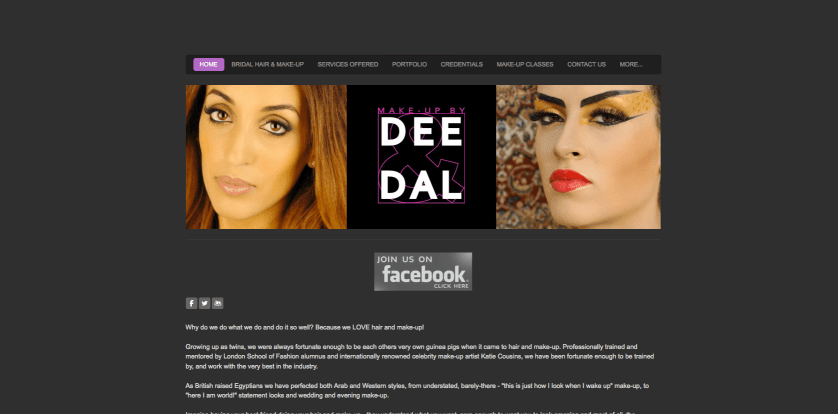 Make-up by Dee & Dal in Dubai ♥