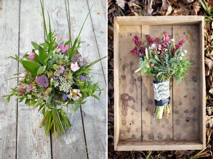 Go wild with your bridal bouquet ♥