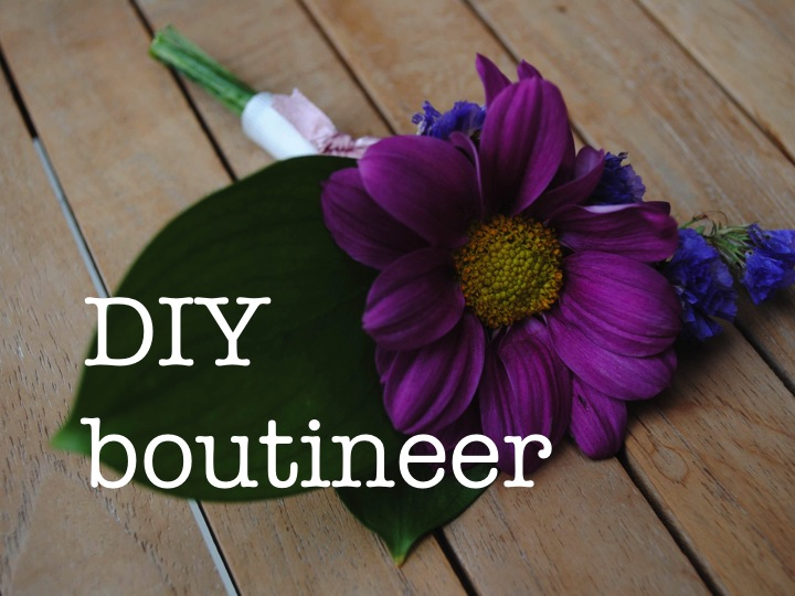DIY bountineer ♥