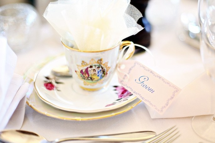 Tea cup wedding inspiration
