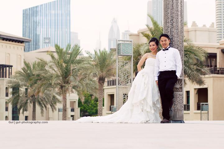 Love in Downtown Dubai | Gul Photography