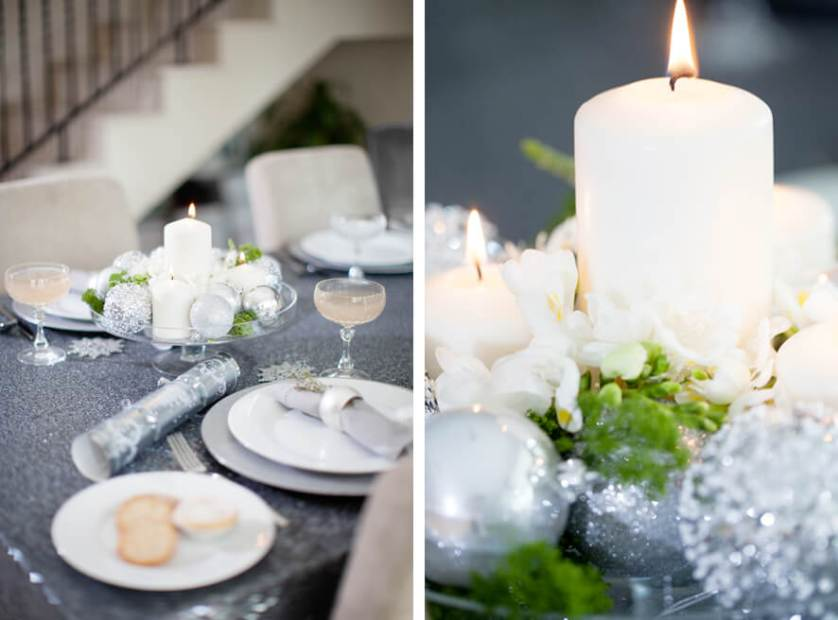 Super Silver | Festive Table Decor ♥