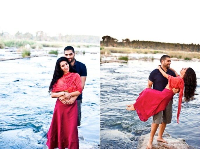 Joumana and Yousef engagement shoot