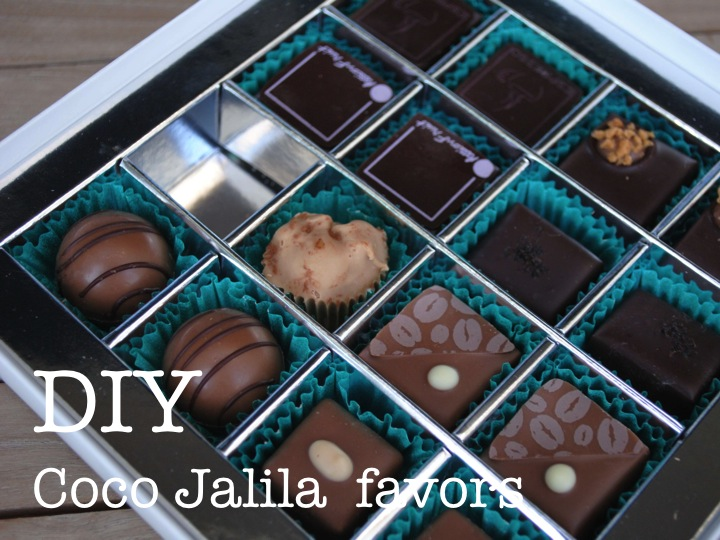DIY Chocolate Favors | Coco Jalila