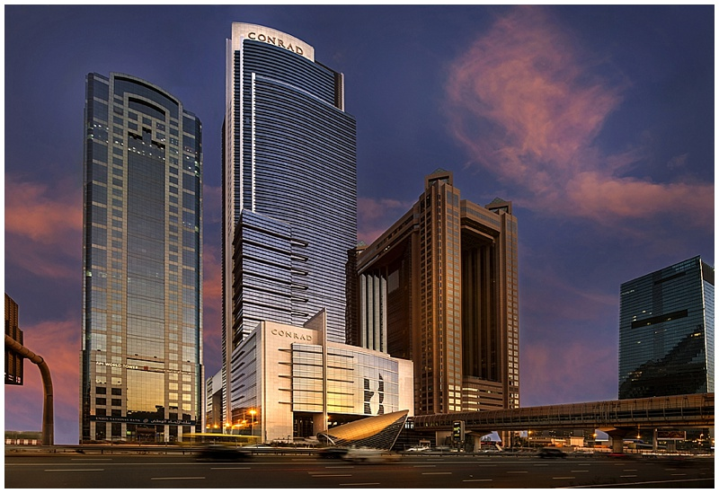 NEW Wedding venue: Conrad Dubai…