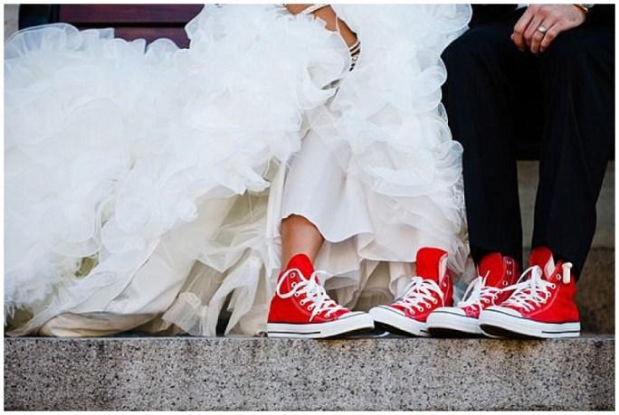 Converse bride
