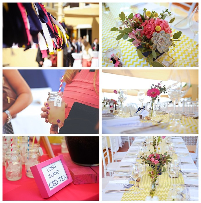 Bright Chevron Arabian Ranches Wedding
