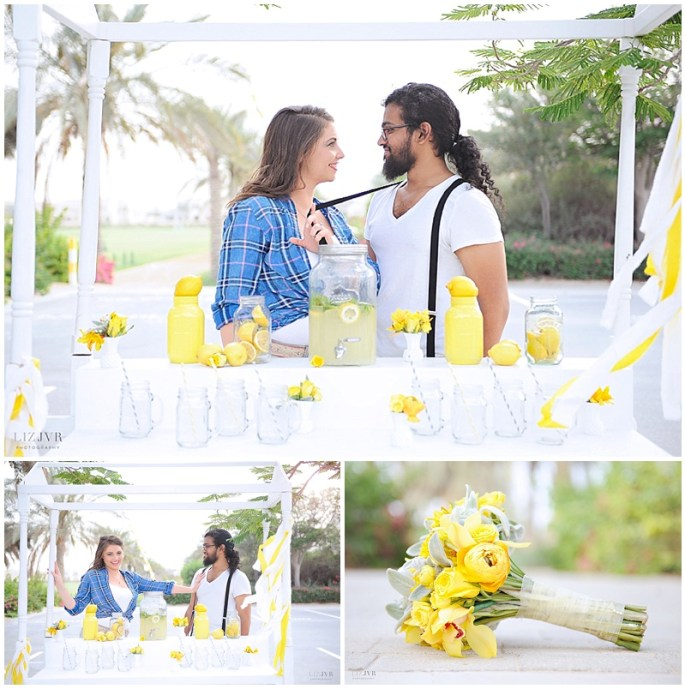 Katie & Sash - Engagement shoot in Dubai - Photography by JVR