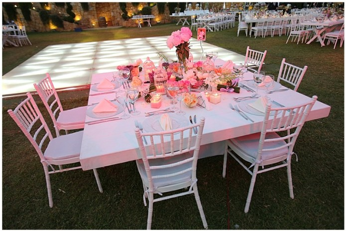 Lebanon wedding - Outdoor pretty wedding