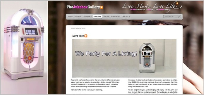 Rent a jukebox for your wedding in the UAE