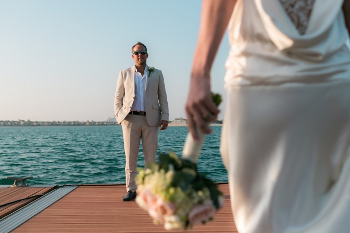 A lovely Dubai wedding photographed by Christophe.