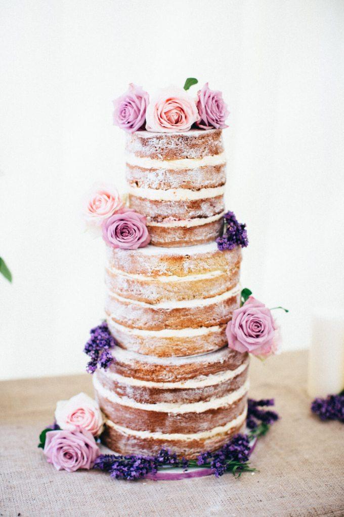 pooly's naked wedding cake
