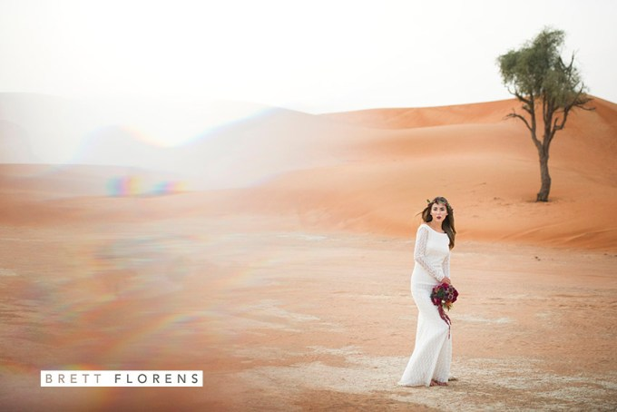 Desert styled shoot - Photography by Brett Florens