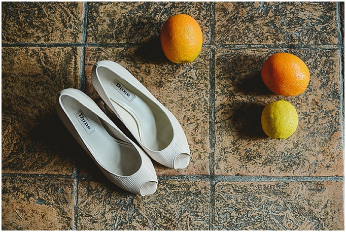 Rustic wedding in Tuscany - Featured on My Lovely Wedding Blog. - wedding shoes by Dune.