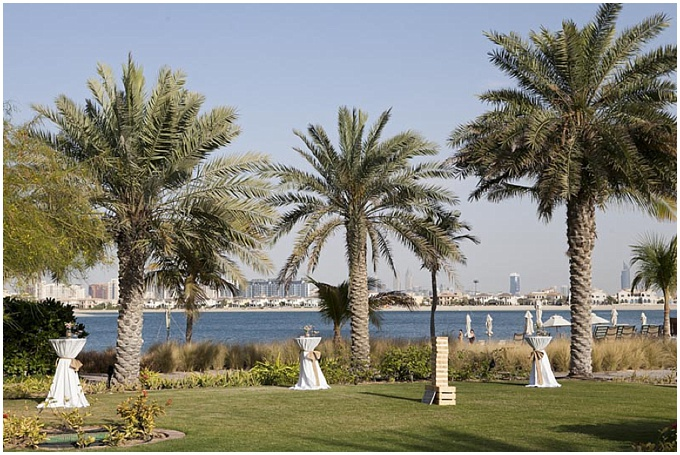 A sneak peek at Cara & Ross's rustic vintage wedding on The Palm Jumeirah.