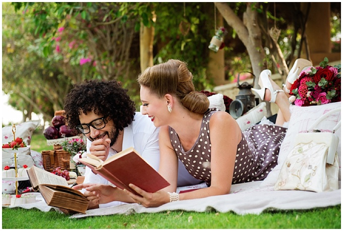 A Romantic Vinatge Styled Shoot in Dubai