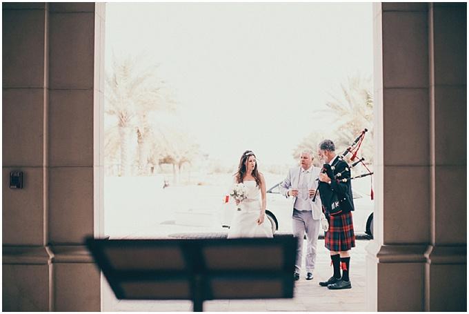 Abu Dhabi Wedding at Yas Links Golf Club