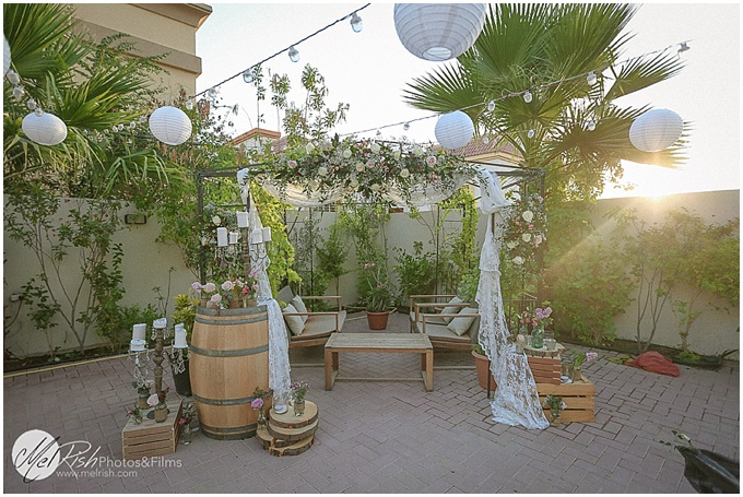 Rustic budget wedding in Dubai - Styled by Lovely Styling