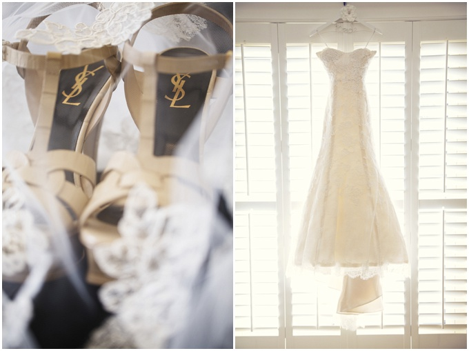 A Lovely Dubai Wedding & a Monique Lhuiller dress. {Goldfish Photography}