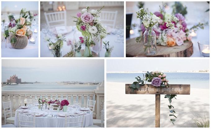 Flowers for Dubai wedding - Lovely Styling & Firenza Flora