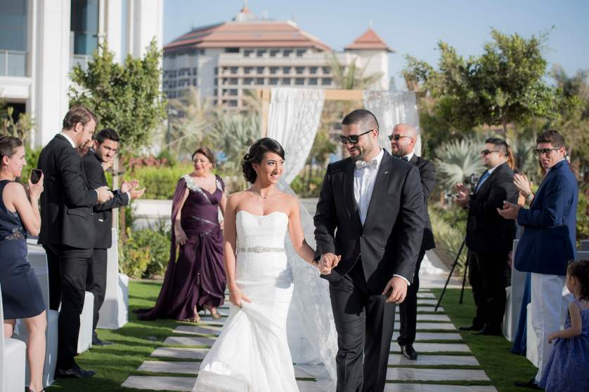 Joumana and Yousef at the Waldorf Astoria Palm Jumeirah {Styled by Lovely Styling}