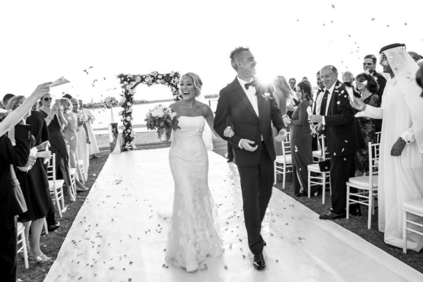 Danielle & Sam's Dubai wedding at Waldorf Astoria, Palm Jumeirah.
