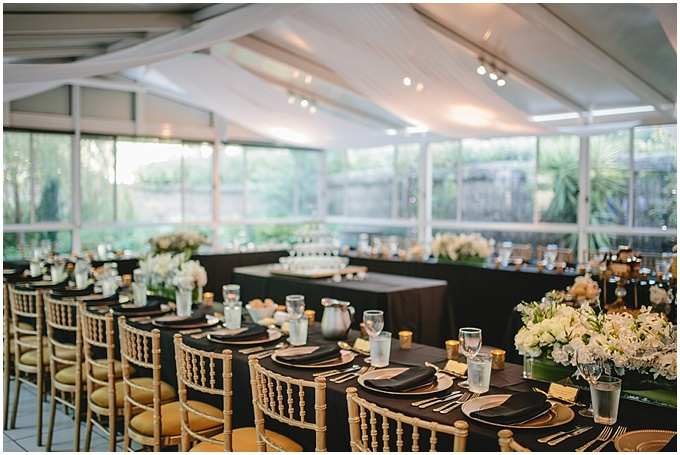 A small wedding with lots of gorgeous details…