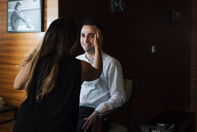 Here comes the groom… {A blog by Monica at MHG Beauty}