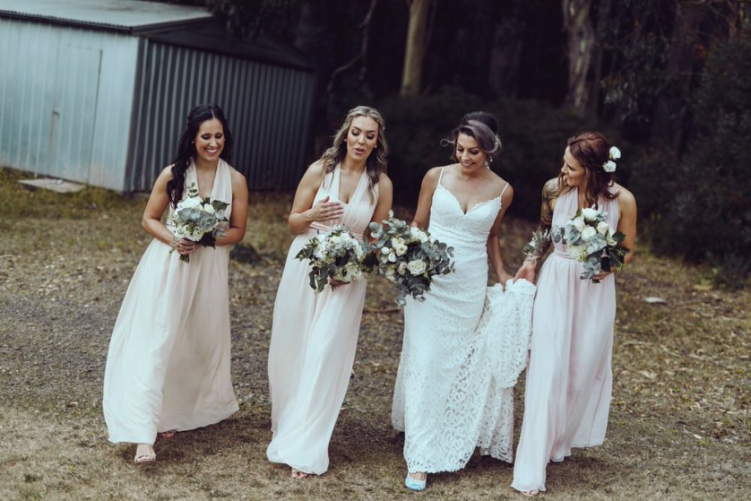 When a wedding planner becomes a bride… Vanessa + Chris's Melbourne wedding!