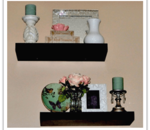 """Add Accessories to Floating Shelves"""