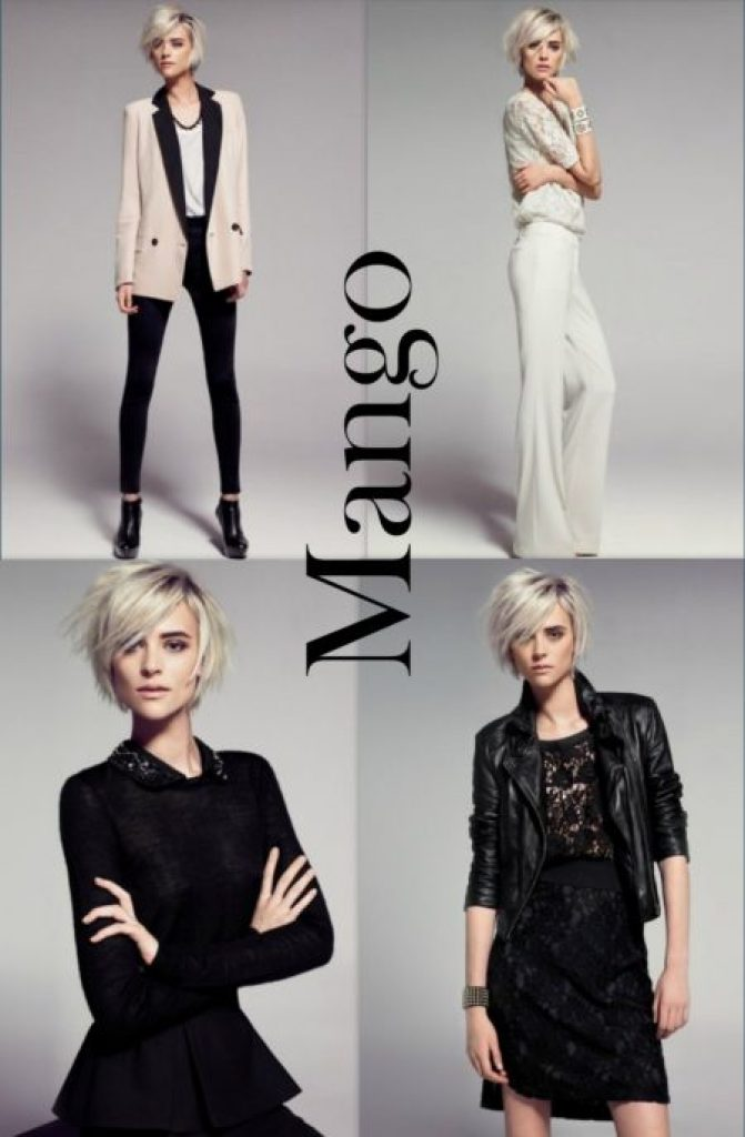 """Mango 2012 Lookbook"""