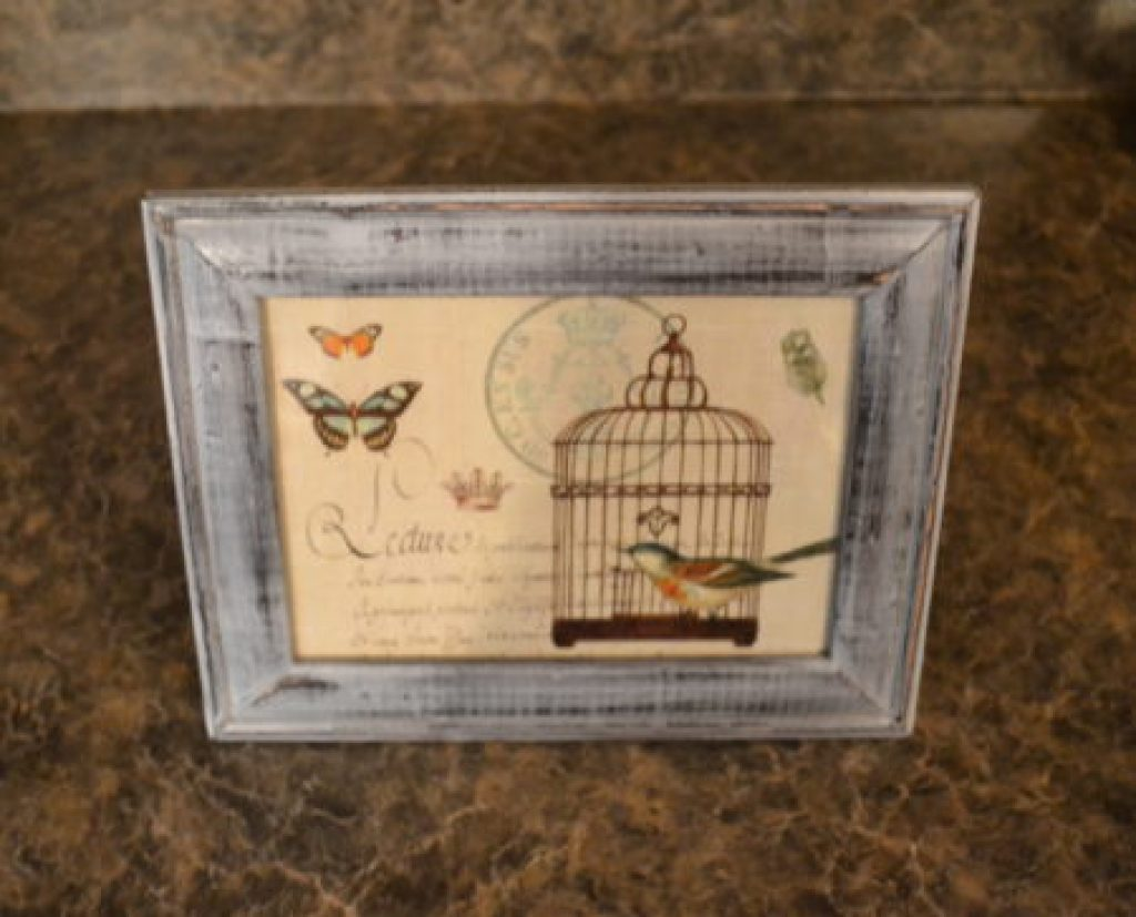 """Perfect distressed picture frame"""