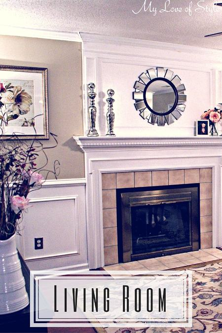 Budget Living Room Makeover My Love of Style My Love of Style