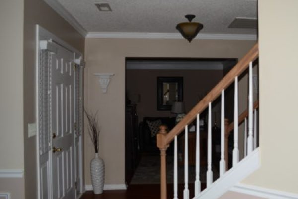 """""""Shabby Chic Foyer Makeover In-process"""""""