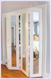 Wardrobe Closet: Wardrobe Closet With Mirrored Doors