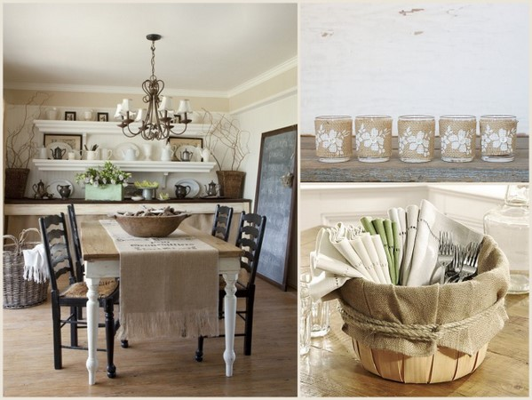 Burlap ideas Decorate Your Home For Fall