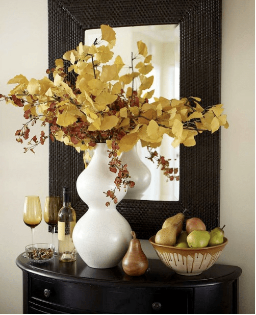 Fall Foliage Display Decorate Your Home For Fall