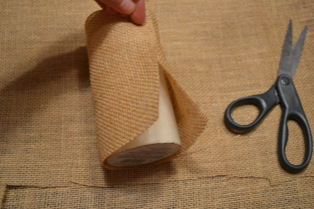 """Cut Burlap for Perfect Fit"""