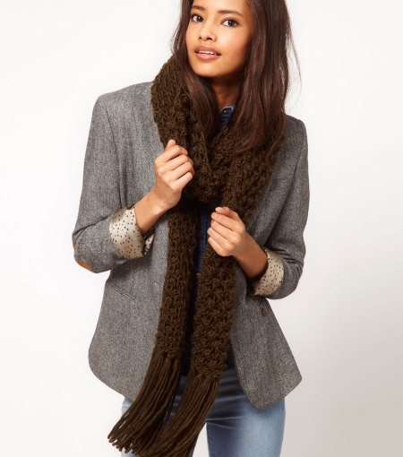 """Cable Knit Scarf"""