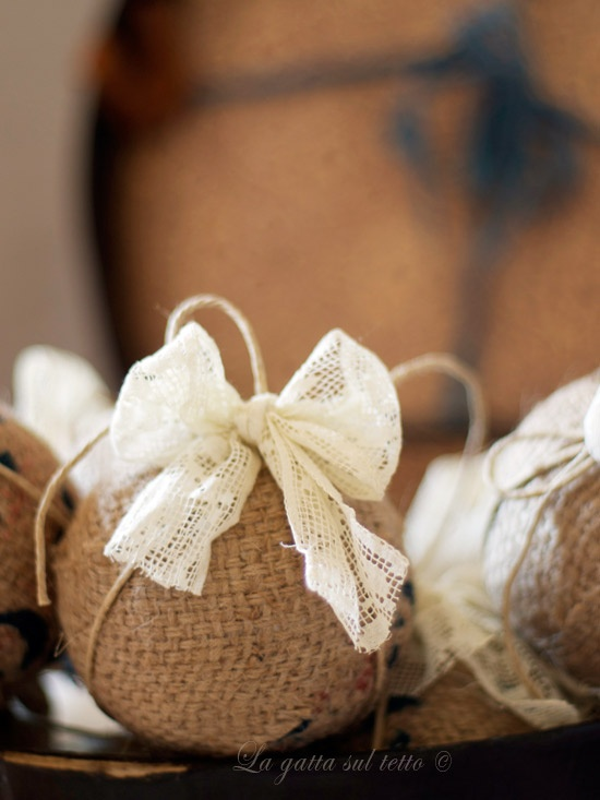 Burlap Christmas Ideas  Inspirations  My Love of Style