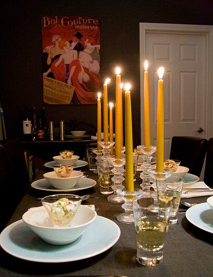 """""""Candle Tablescape"""""""