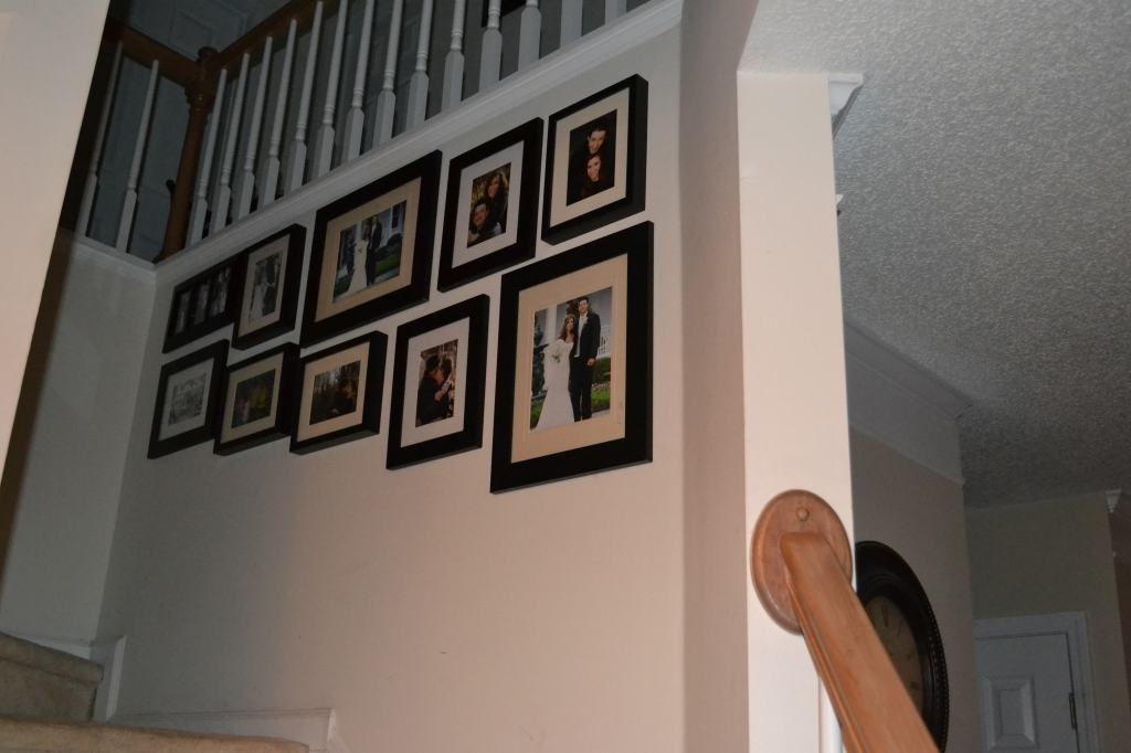 """""""Gallery Style Memory Wall"""""""